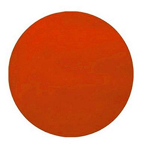 Chal - 50 Sets de table intissé ronds orange