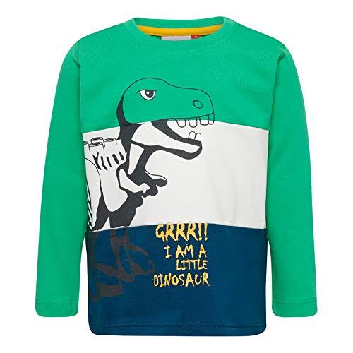 Lego Wear Duplo Boy Lwterrence 650-Langarmshirt T-Shirt À Manches Longues, Vert (Green 866), 86 Bébé garçon