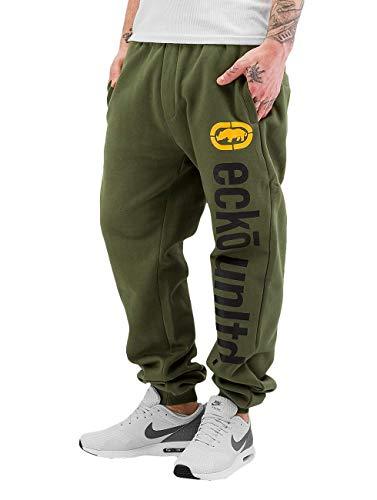 Ecko Unltd Männer Jogginghose 2Face Sweatpants Grün XL