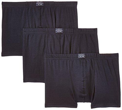 ESPRIT Bodywear Herren Retroshorts Value Pack, 3er Pack, Blau (NAVY 415), Large (Herstellergröße: 6)