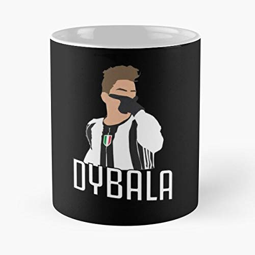 Paulo Dybala Mask Classic Mug -11 Oz Coffee - Funny Sophisticated Design Great Gifts White-Situen