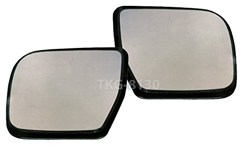 K1AutoParts 1 Pair Side Mirror Glass Lens Len For Toyota Hilux Mighty-X MK3 / RN85 / LN85 / LN 106 Pickup 1989-1997