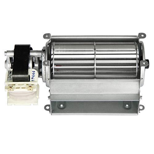 Hongso GFK21, FK21, BLOTSDV Replacement Fireplace Blower Fan Unit for Heatilator, Majestic, Heat N Glo, Rotom R7-RB66