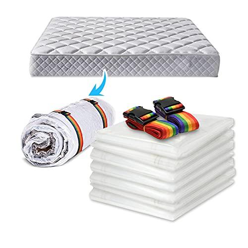 Vakuumbeutel Für Matratzen/bettdecken Aufbewahrungstasche- Platzsparer Vakuum Aufbewahrungstaschen Für Extra Große Latex / Schwammmatratze Schwere - Dicke Kunststoff-Bett-Matratze-Abde(Size:200x250cm)