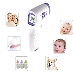 HyWell Medical Infrared Thermometer Forehead Baby Portable Non-Contact Child Handheld Body/Object Temperature Measure IR Device for Baby Adult Thermometer Gun