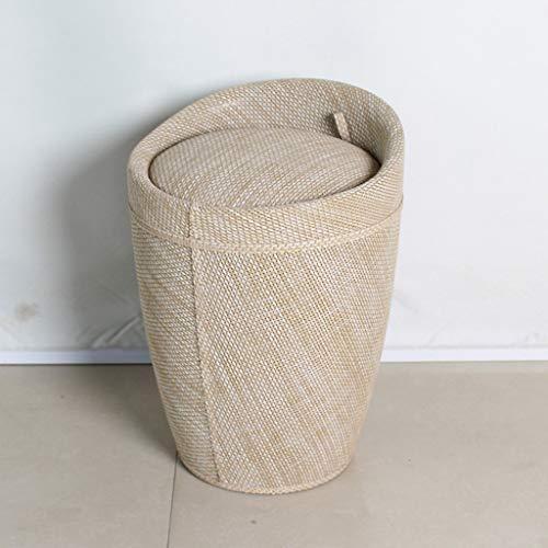 YANGSANJIN Barstoel Cqq Mode opvangstoel Rotan Cilinderstoel Barkruk Voorstoel Kassierstoel (Kleur : B)
