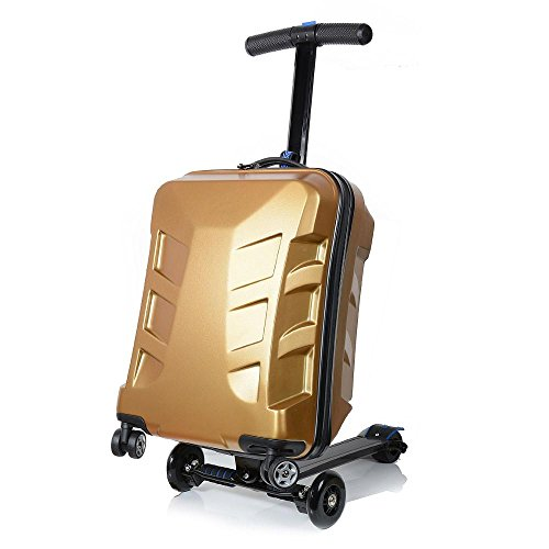 Our #1 Pick is the Sondre TSA Lock Scooter Luggage
