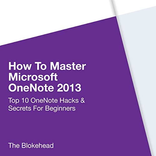 How to Master Microsoft OneNote 2013 cover art