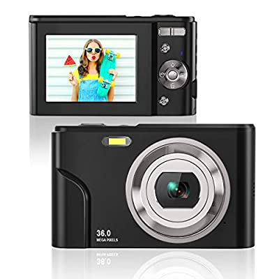 Rosdeca HD 36MP Digital Camera for Photography with 16X Zoom by Rosdeca