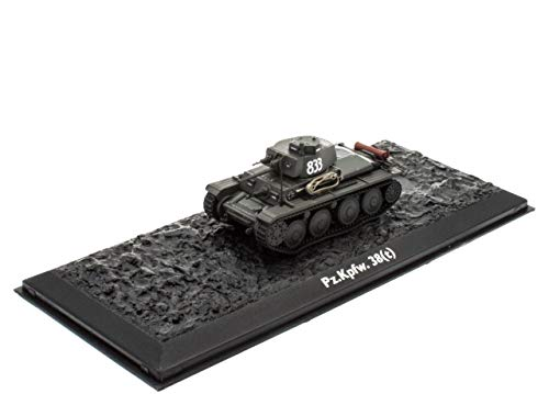 Atlas Edition Ultimate Tank Pz.Kpfw. 38 (t) Fertigmodel Maßstab 1:72 Die-Cast Metall