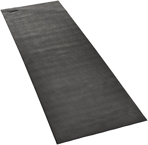AmazonBasics High Density Exercise Equipment and Treadmill Gym Floor Mat - 3 x 8.5 Feet, Black