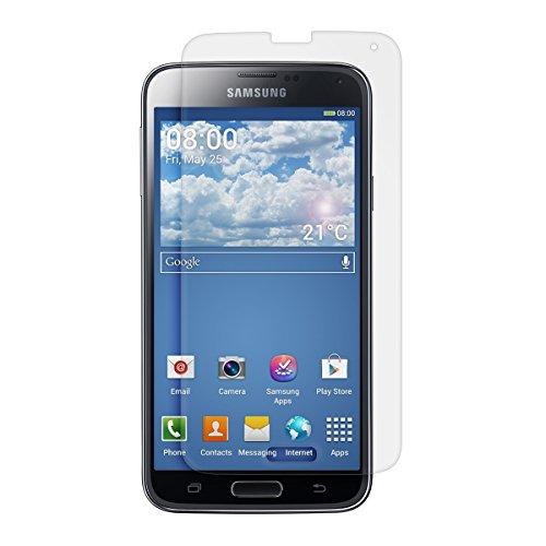 kwmobile Pellicola protettiva compatibile con Samsung Galaxy S5 / S5 Neo - Protezione opaca e antiriflesso con effetto anti-impronte - Qualità Premium