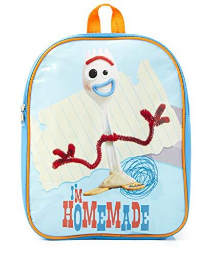 Toy Story 4 Mochila Infantil Niño Con Personaje Forky  Mochilas Escolares de Lona Azul