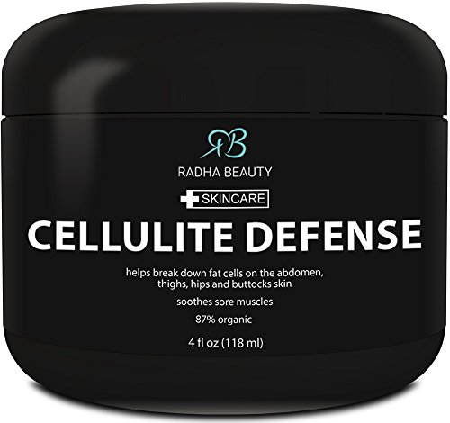 Big Save! Cellulite Cream 4 oz - Best Anti-Cellulite gel-cream, slimming and body firming gel with T...