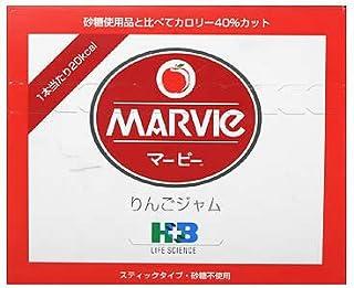 H+Bライフサイエンス マービーりんごジャム 13gX35包