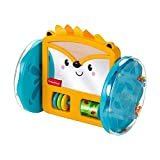 Fisher-Price Play & Crawl Hedgehog Mirror, Crawl and Chase Toy