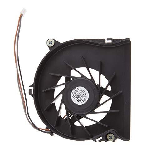 B Blesiya Pieza de Repuesto del Ventilador de Refrigeración de La CPU del Ordenador Portátil para NC6110 NC6120 NC6220 NX6130