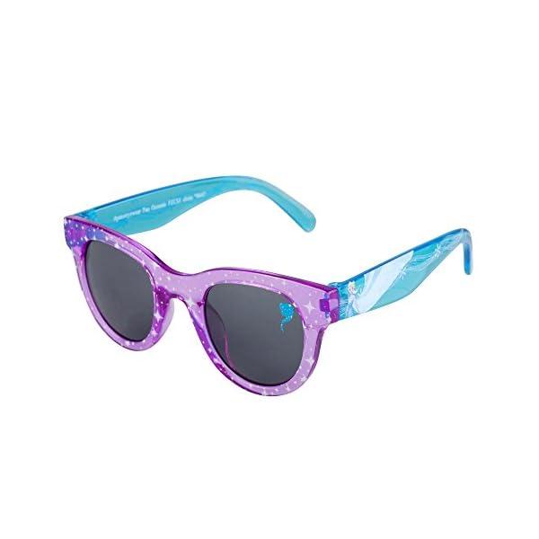 Frozen II Kids Sunglasses for Girls, Toddler Sunglasses with Kids Glasses Case