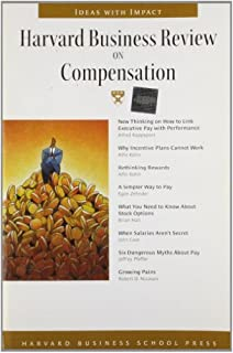 """Harvard Business Review on Compensation (""""Harvard Business Review"""" Paperback S.) by Harvard Business Review"""