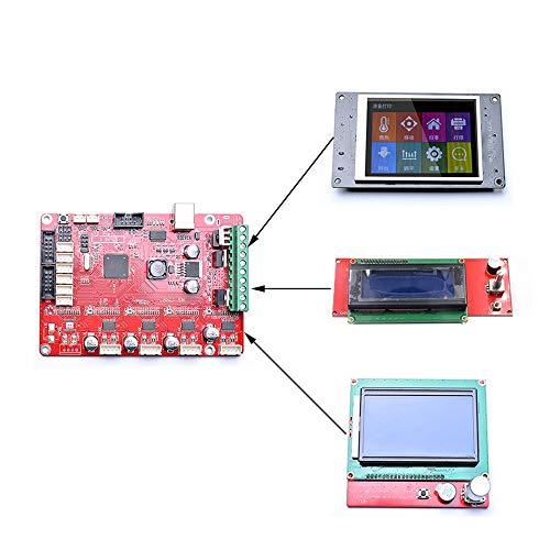 3D-Printeraccessoires 3D Printer Parts Printing Board Controller Moederbord MKS Compatibel RepRap Prusa Ramps1.4 Mega2560 Met A4982 Drivers