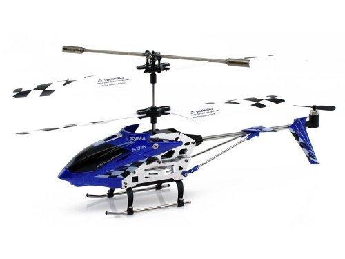 Helicopter SYMA S107N 3-Kanal Infrarot mit Gyro (Blau)h