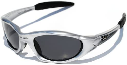 X loop Polarized Sunglasses Silver Frame product image