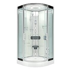 AcquaVapore DTP8046-6002 Dusche Dampfdusche Duschtempel Duschkabine 100×100 XL JA mit 2K Scheiben Versiegelung*