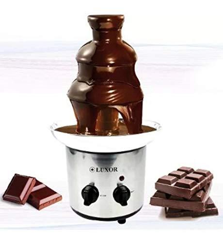 Fonte Cascata Chocolate (3 Andares) Inox 220 Ou 110 Wts