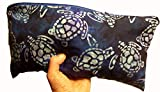 TAKETWOPILLOWS AND CALL ME IN THE MORNING! One Support Pillow. Organic Buckwheat Hulls with Lavender Buds Firm Fill, Sealed Insert. (16 x 6 x 4) Don't take Pills! Take Pillows!