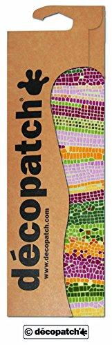 Decopatch Papier No. 509 (grün Mosaik, 395 x 298 mm) 3er Pack