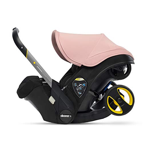 Doona Infant Car Seat & Latch Base – Car Seat to Stroller – Blush Pink – US Version