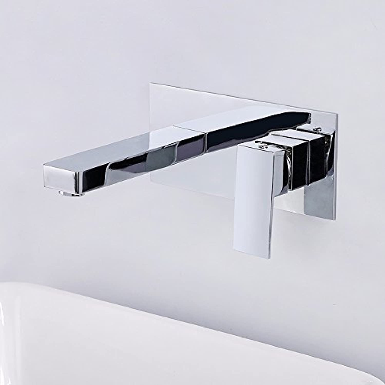 Hlluya Professional Sink Mixer Tap Kitchen Faucet Flush mount basin cold water tap.