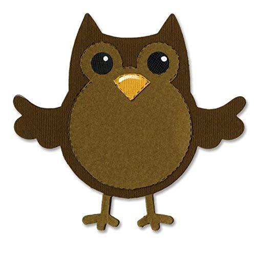 Sizzix Bigz Die, Owl #2, Multicolor