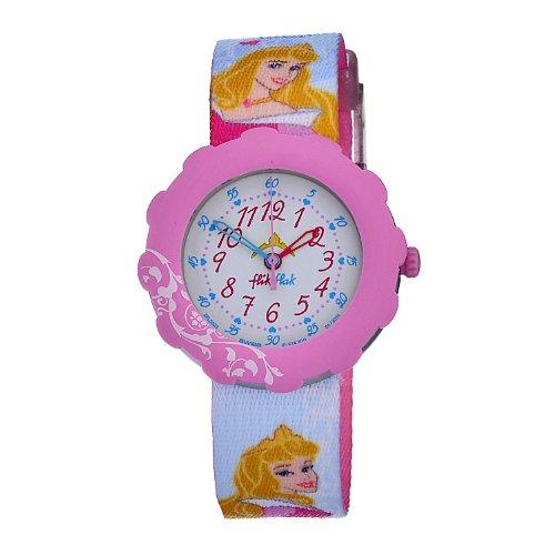 Swatch Kids' ZFLS023 Quartz White Dial Disney Theme Watch
