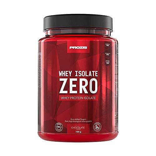 Prozis Zero Whey Isolate Proteina, Cioccolato - 750 g