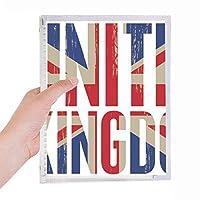 英国の英国国旗ユニオンジャックビッグ・ベン 硬質プラスチックルーズリーフノートノート