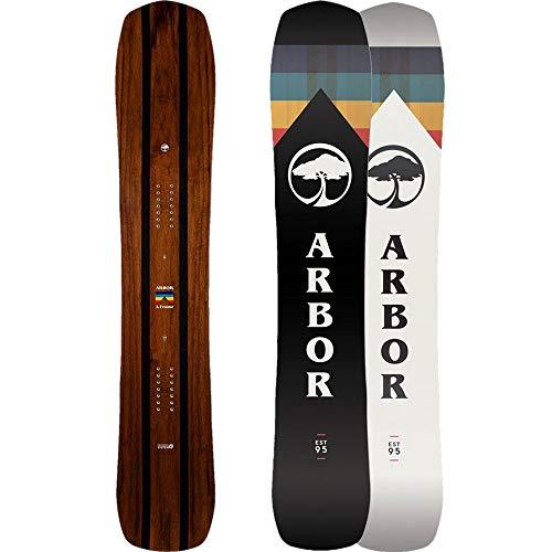 Arbor Herren Freeride Snowboard A-Frame 162 2019