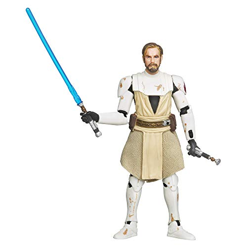 Star Wars The Vintage Collection Obi-Wan Kenobi Toy, 3.75-inch Scale Star Wars: The Clone Wars Action Figure, Toys for Kids Ages 4 and Up