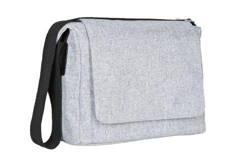 Lässig Sac à Langer - Green Label - Small Messenger Bag Update - Gris - Nouveau Dessin