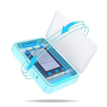 【5/31まで】Vodac 8インチタブレット対応UV-C紫外線消毒ボックス 2,159円送料無料!【サイズ大きめ】