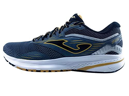Joma Serie Speed, Zapatillas de Atletismo Hombre, Gris-Negro, 46 EU