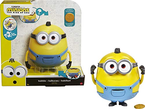Minions Babble Otto Large Interactive Toy with 20+ Sounds & Phrases,...