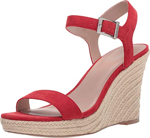CHARLES BY CHARLES DAVID womens Wedge Sandal Platform, Hot Red, 10 US