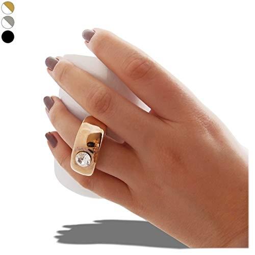 Tasse mit Henkel in Form von Ring Tasse Weiß Ring Silber