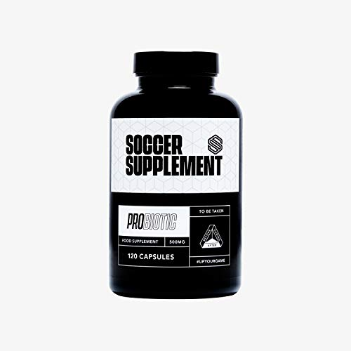 SOCCER SUPPLEMENT - Probiotic is Designed to Designed to Promote a Healthy Gut and to Boost The Immune System, 120 Capsules