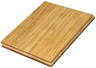 """Cali Bamboo - Solid Wide T&G Bamboo Flooring, Natural Light Brown - Sample Size 8"""" L x 5 3/8"""" W x 9/16"""" H"""
