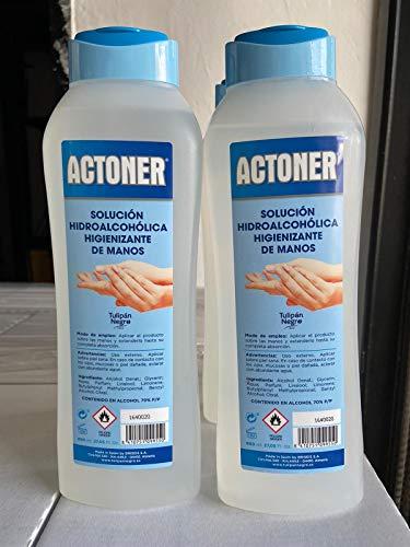 Actoner Solucion Hidroalcohol Actoner 800 Ml 500 g