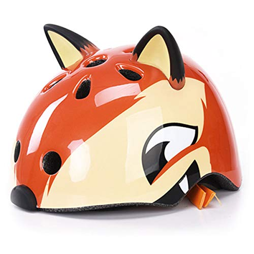 Affordable dPois Kids Adjustable Helmet Cute 3D Cartoon Animal Cycling Skating Scooter Helmet for Ki...