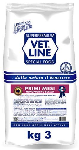 Vetline Cane Primi Mesi Monoproteico Bufalo 3 Kg