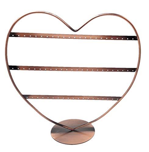 R&F srls R&F Schmuckständer STEND Herz Kupfer Ohrringe für Modeschmuck